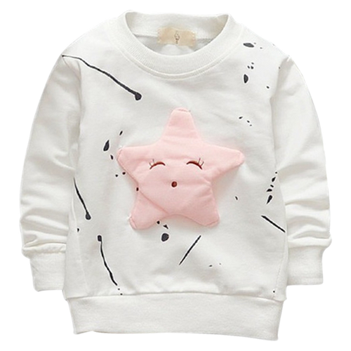 Long Sleeve Star Sweatshirt