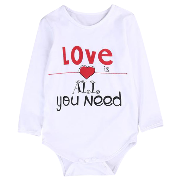 Love Is All You Need Bodysuit