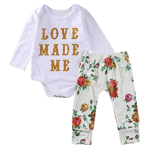 Love Made Me Bodysuit Set