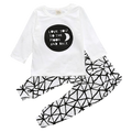 Love You To The Moon Clothing Set