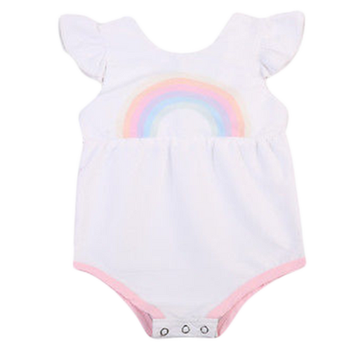 Lovely Rainbow Playsuit