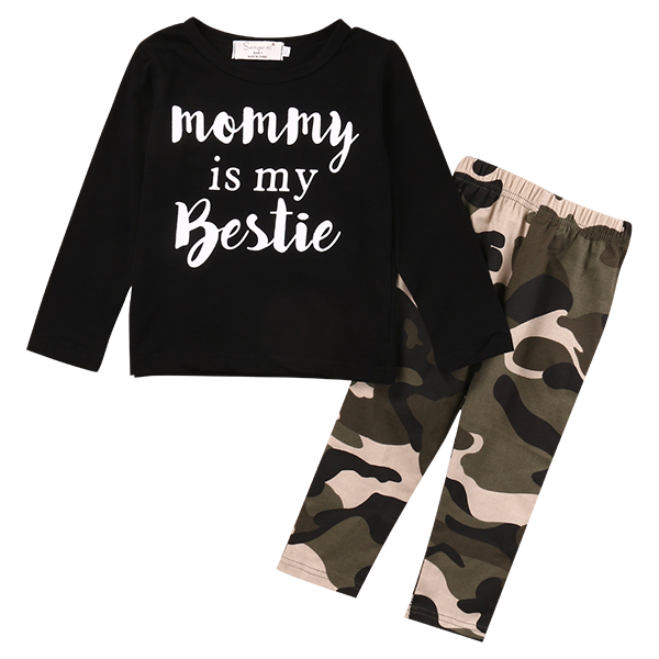Mommy is My Bestie Clothing Set