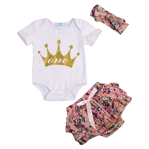 One Crown 3pcs Summer Set