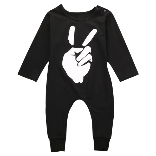 Peace Sign Romper