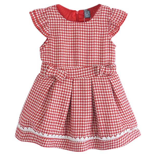 Girl Plaid Casual Dress