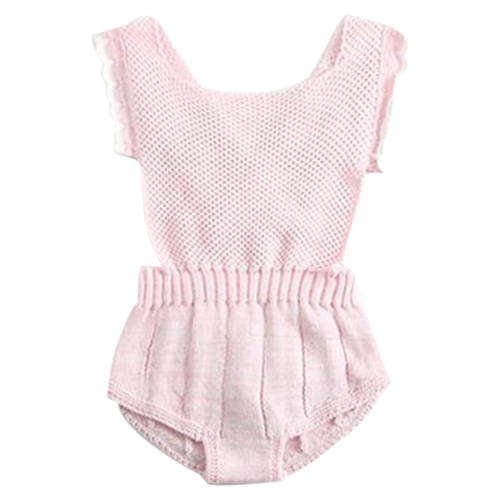 Princess Knitted Playsuit