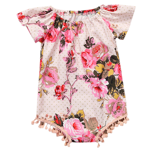 Shiloh Floral Playsuit