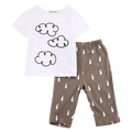 Summer Clouds Clothing Set