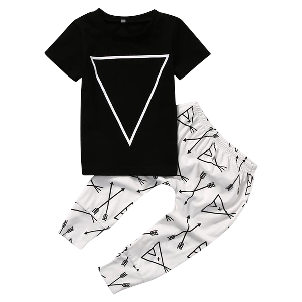 Triangle Arrow Tent Clothing Set