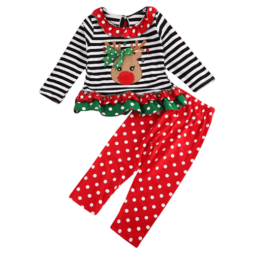 Xmas Deer Clothing Set