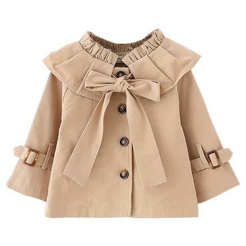 Coat - Fashionable Little Girls Coat