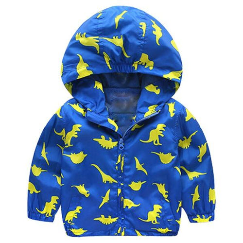Jacket - Little Dinosaur Hooded Jacket