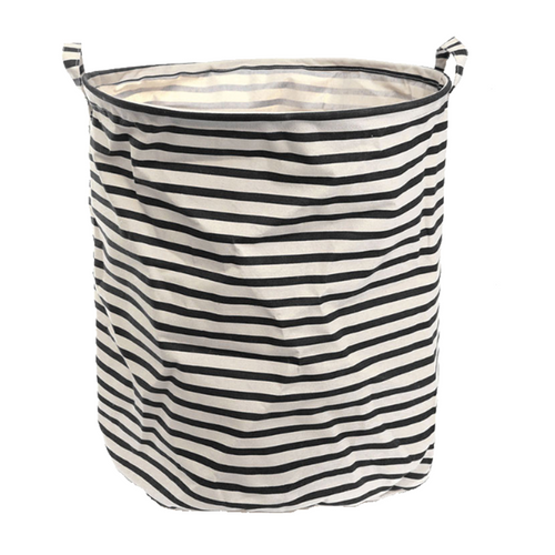 Black & White Laundry Baskets