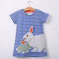 Rabbit Striped Dress