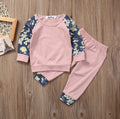 Floral Pink Clothing Set