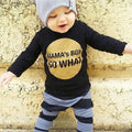 Mama's Boy Black Clothing Set