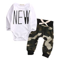 New Army Pants Clothing Set
