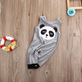 Panda Sleeveless Romper