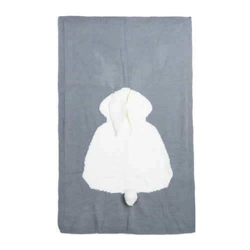 Cute Rabbit Baby Blanket