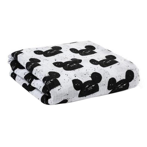 Mouse Swaddle Blanket