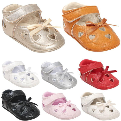 Baby Heart Summer Shoes