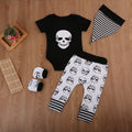 Skeleton Black Clothing Set