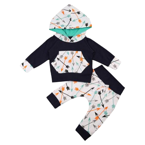 Arrow Hooded Clothing Set