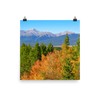 Mount Elbert at 14,439 is a towering presence south of Leadville - print