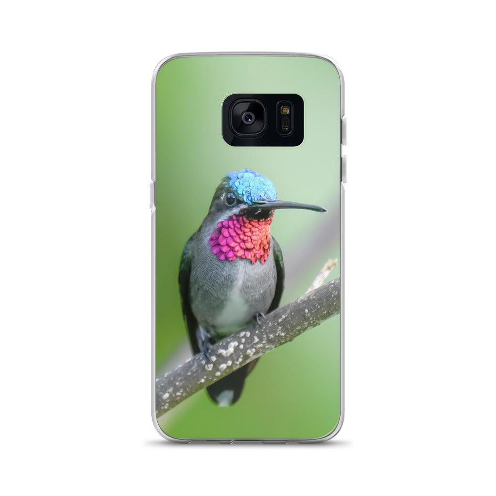 Samsung Case with beautiful Hummingbird