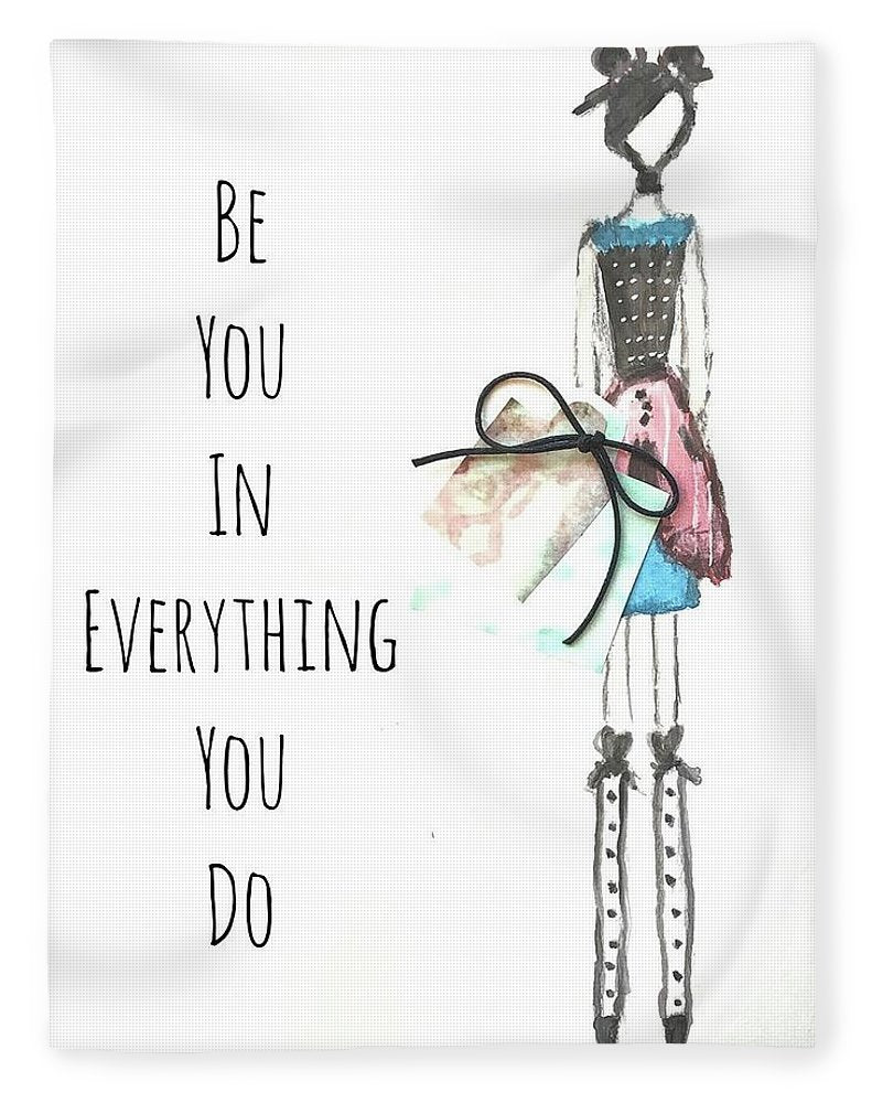 Barella Girl - Be You In Everything You Do - Blanket