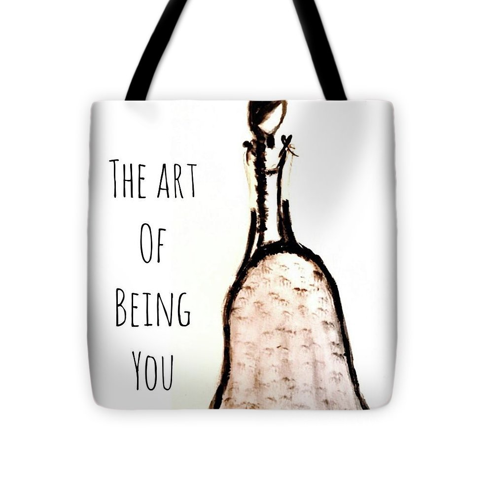 Barella Girl The Art Of Being You - Tote Bag