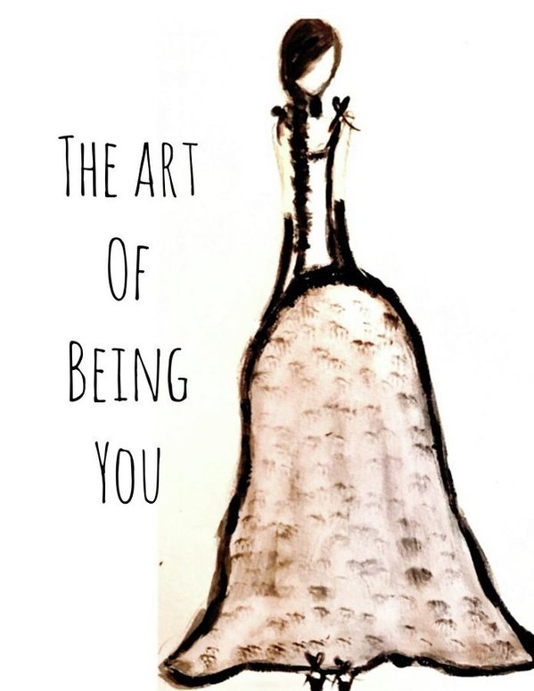 Barella Girl The Art Of Being You - Art Print