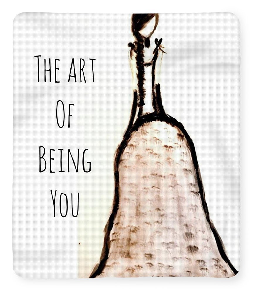 Barella Girl The Art Of Being You - Blanket