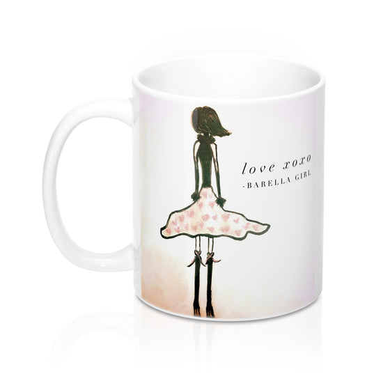 Barella Girl - Valentine Dress - Mug