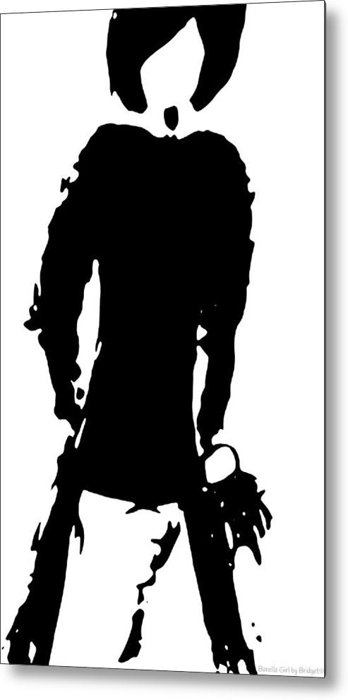 Barella Girl - Fashion Fashion - Metal Print