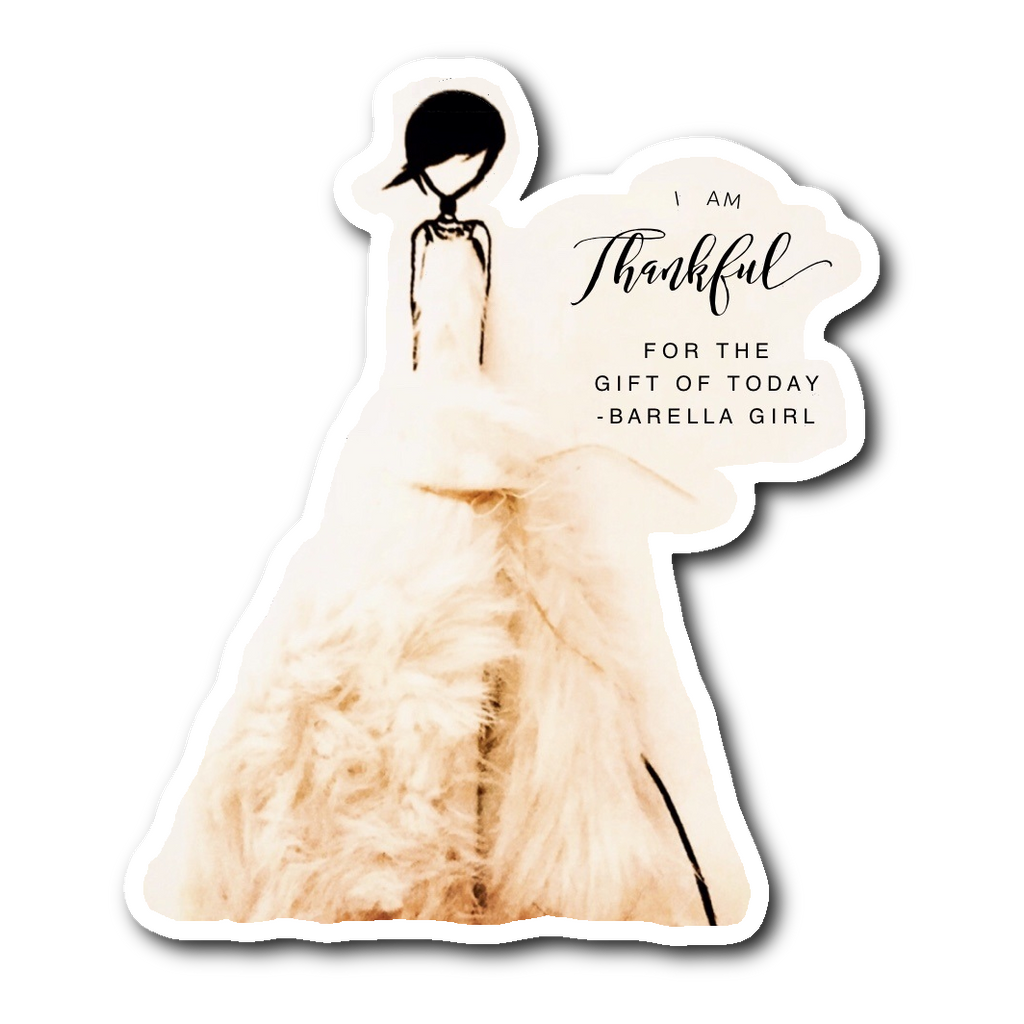 Barella Girl Cream Fur - Thankful