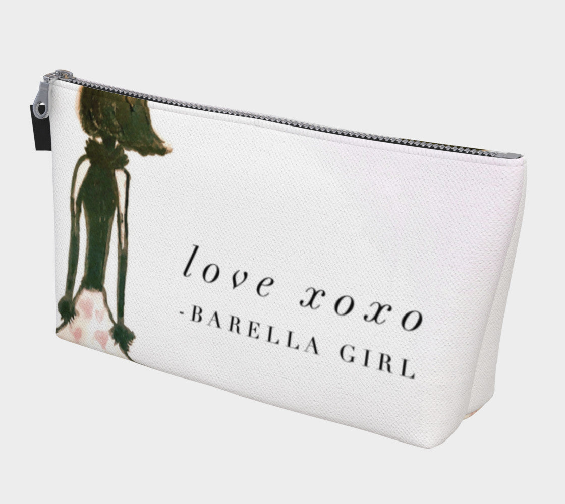 Barella Girl Valentine Dress Makeup Bag