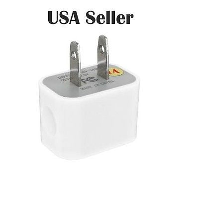 USB Power Adapter AC Home Wall Charger/ Universal (Bundle of 2) USA Seller