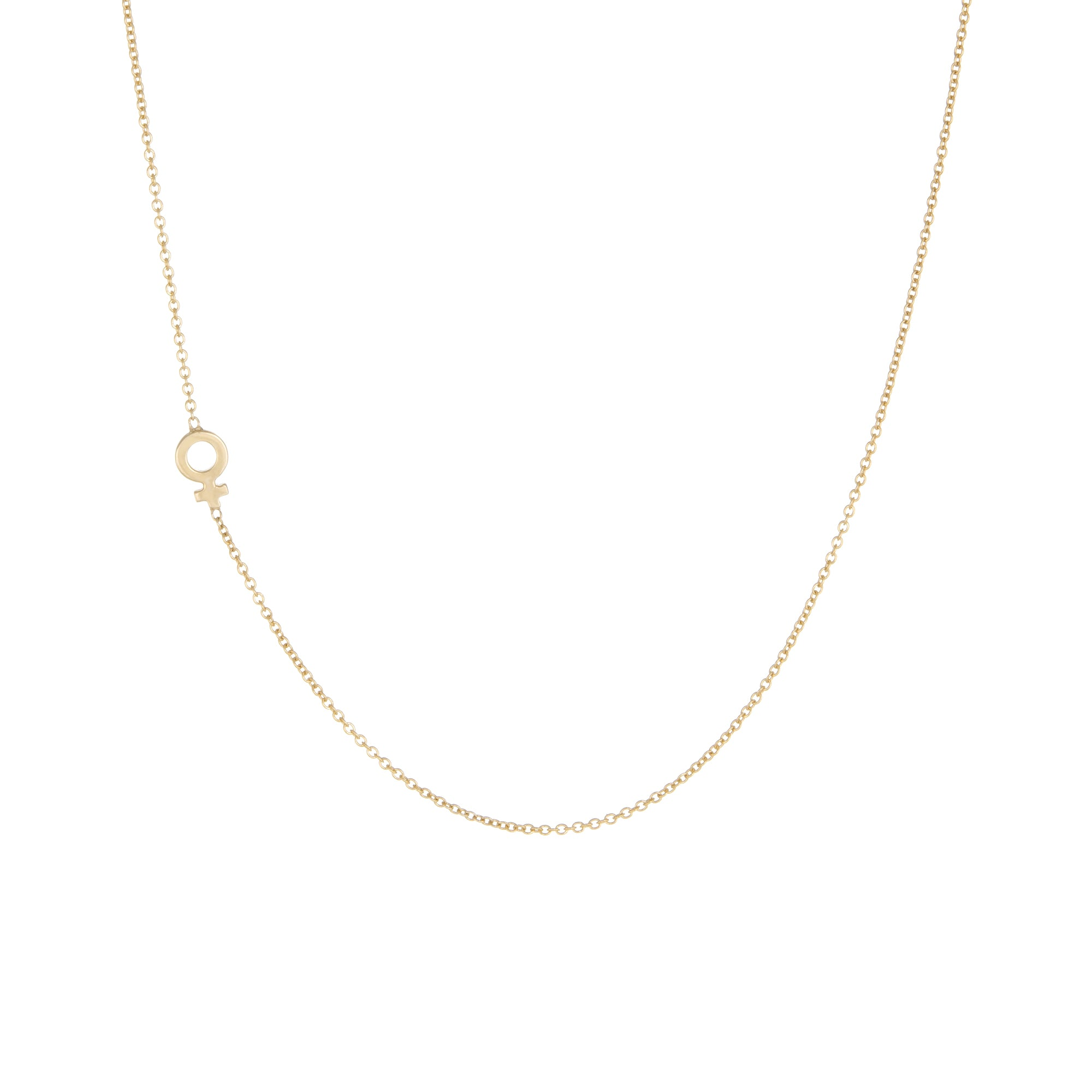 zu jewellery pendant pure products collection venus necklace