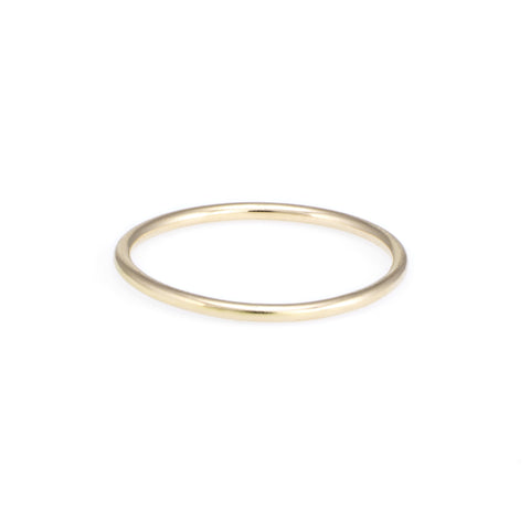 Children's First Gold Ring | Yellow Gold | The Storm Jewelry | Fine Jewelry Made in Los Angeles - committed to empowering female equality, celebrating forever friendships & championing future generations of women.