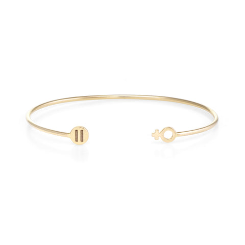 Equality Cuff | The Storm Jewelry | 14k Fine Jewelry