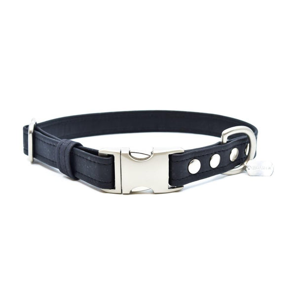 Black Cork Dog Collar - Hoadin
