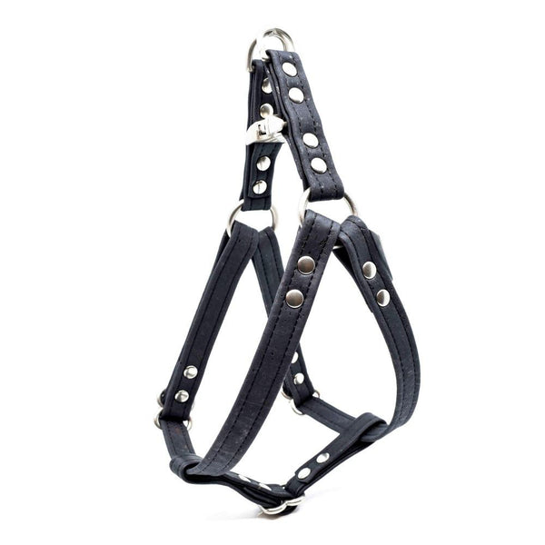 Black Cork Dog Harness - Hoadin