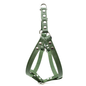 Forest Waxed Canvas Dog Harness - Hoadin