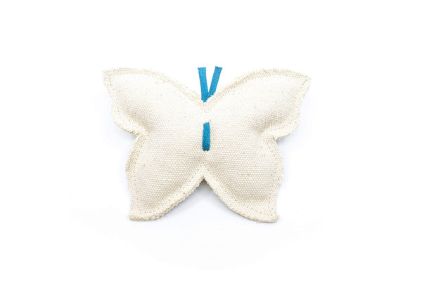 Heavy Canvas Butterfly Dog Toy - Hoadin