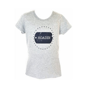 Hoadin Heather Grey T-Shirt - Hoadin