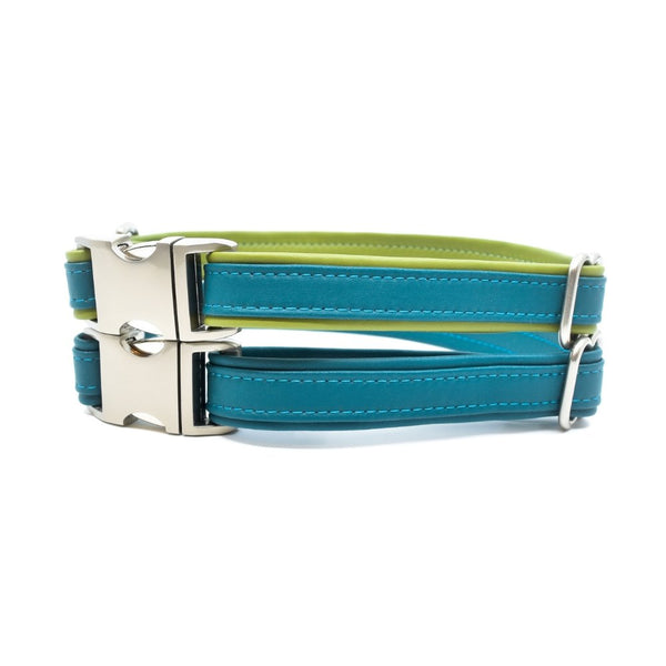 Lagoon Sileather Dog Collar - Hoadin