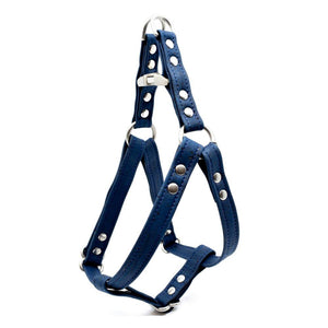Navy Cork Dog Harness - Hoadin