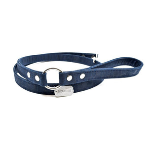 Navy Cork Dog Leash - Hoadin
