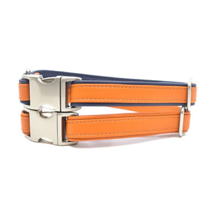 Pumpkin Sileather Dog Collar - Hoadin